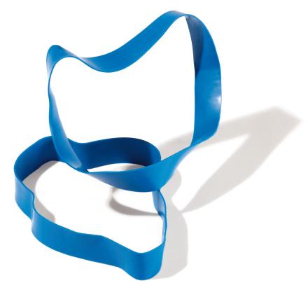 Jumppakuminauha Kova / Sininen