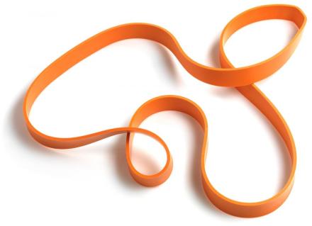 Abilica PowerBand 3 cm oranssi