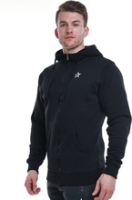 Star Mens Zip Hood, Black