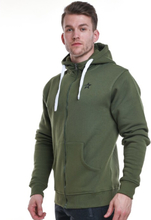 Star Mens Zip Hood, Olive