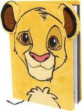The Lion King - Simba -Notisbok - gul
