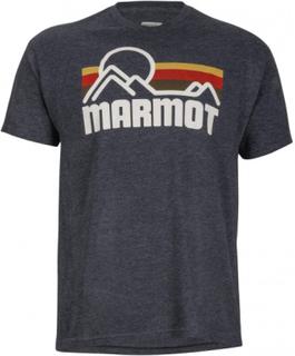 Marmot - Marmot Coastal Shortsleeve Herr funktion skjorta (mörkgrå) - S