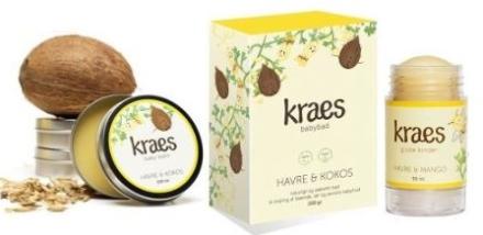 Kraes Baby Sampak, Havre&kokos - REN Velvære