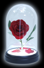 Beauty and the Beast - Enchanted Rose -Bordlampe - multicolor