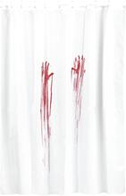 Blodbad - -Dusjforheng - hvit