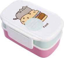 Pusheen - Lunch Box Set - Lunchlåda - multicolor
