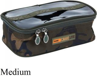 Fox Camo Lite Accessory Bag Medium
