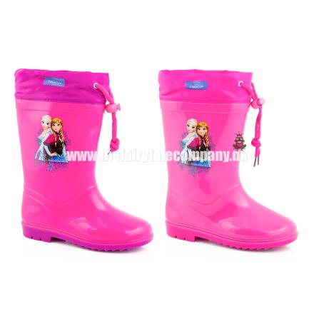 Frost gummistøvle, pink - TheFairytaleCompany
