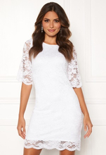 Happy Holly Jade lace dress White 34