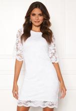 Happy Holly Jade lace dress White 34