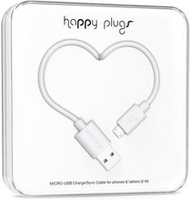 Micro-USB Charge/Sync Cable White