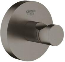 Grohe Essentials håndklædekrog, børstet hard graphite