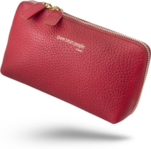 Makeup bag / toiletry bag - Paris (RUBY RED)