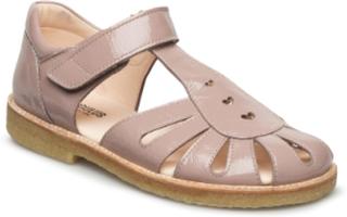 Sandals - Flat Sandaler Beige ANGULUS