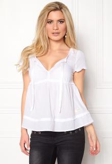 Odd Molly Fin-tastic S/S Blouse Bright White L (3)