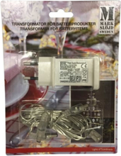 Markslöjd transformer til batteriboks 3,5V
