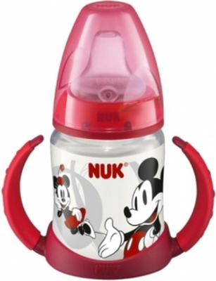 NUK First Choice ´lära dricka flaska´ 150ml Rosa