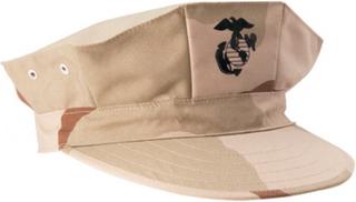 Field cap USMC, 3 clr. Desert