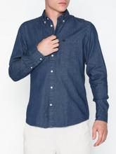 Selected Homme Slhregcollect Shirt Ls W Noos Kauluspaidat Medium Blue