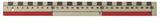Linjal 30cm dm/cm-gradering plast 10/FP