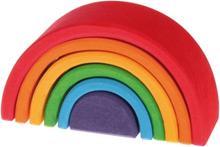 Regnbåge i primärfärger - liten (6 delar, Grimms)