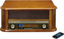TCD-2550 - audio system Skivspelare - Brown