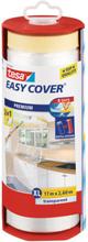 Tesa Easy Cover 4368 Skyddsfolie med maskeringstejp 17 m x 2600 mm, dispenser