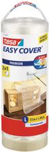 Tesa Easy Cover 4368 Skyddsfolie med maskeringstejp 33 m x 1400 mm, refill