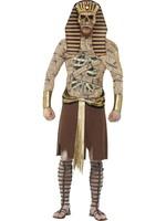 Zombie Farao Maskeraddräkt Medium