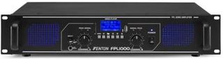 Fenton FPL1000 förstärkare med MP3 Bluetooth LED EQ Fenton FPL1000 Dig.Amplifier BT MP3 LED EQ