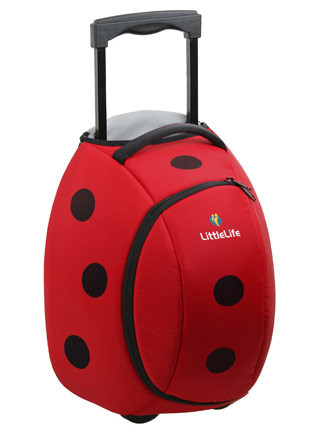 Littlelife lasten matkalaukku leppäkerttu