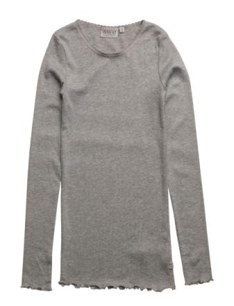 Rib T-Shirt Lace Ls - Boozt