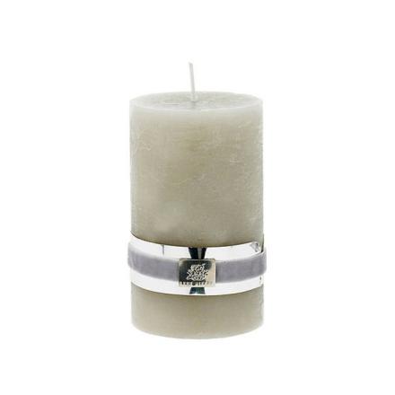 Candle Collection, Lys, Sølv/Grå, Medium