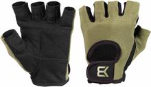 Better Bodies Basic Gym Gloves, khaki green, large Träningshandskar unisex