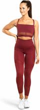 Better Bodies Waverly Mesh Bra, sangria red, large Sport-BH dam