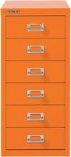 Bisley - Bisley Arkivskab 6L, Orange
