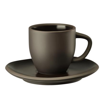 Rosenthal - Junto Espressokop & Underkop 9 cl, Slate Grey