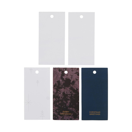 Monograph - Gift tags, Variation 1, 50 pcs/pack