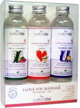 Catchlife: I Love You Massage, Gift Box, 3x75 ml