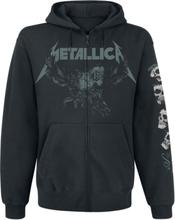Metallica - S&M2 - Skull -Hettejakke - svart