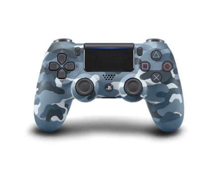PS4 - DUALSHOCK 4 Wireless Controller - Blue Camouflage V2