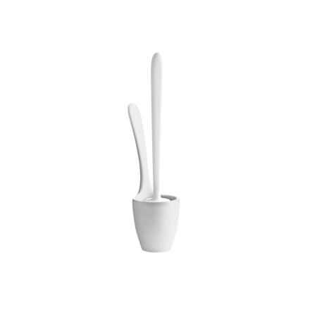 Koziol - Mary Loo Toiletbørste, Hvid