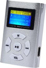 Trendig Mp3-spelare Med Lcd-skärm - Silver Silver