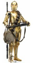 Star Wars (The Rise of Skywalker) C-3PO Lifesized Cardboard Cut Out