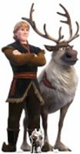Disney Frozen 2 Kristoff & Sven Oversized Carboard Cut Out