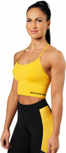 Better Bodies Astoria Seamless Bra, yellow, large Linnen dam