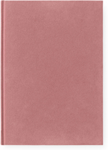 Normann Copenhagen - Velour Notisblokk L, Blush
