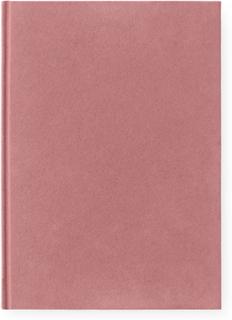 Normann Copenhagen - Velour Notesblok L, Blush
