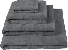 Designers Guild - Coniston Charcoal Badehåndklæde 90x165cm