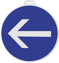 Hinweischild ''Richtungspfeil (blau)''